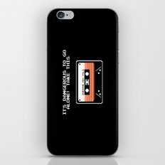 TAKE THIS TAPE (Zelda & Guardians of the galaxy Parody) iPhone & iPod Skin