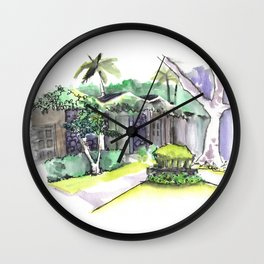 Villa Wall Clock
