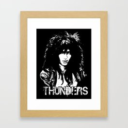 Johnny Thunders Framed Art Print