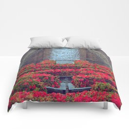 Flowering Fall Comforters