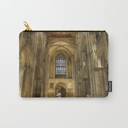 Peterborough Cathedral Arches Carry-All Pouch