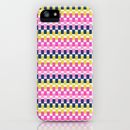 COLOURFUL BLOCKS iPhone Case