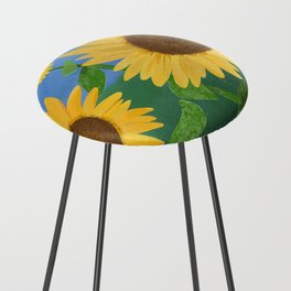 Sunflower Day Counter Stool
