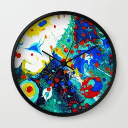 egg on your face Wall Clock