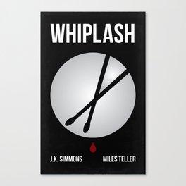 Whiplash Graphic Movie Poster Canvas Print