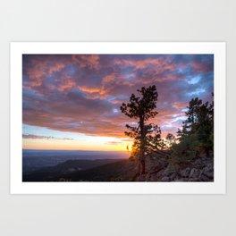 Grand Canyon, Parashant International Night Sky Province Art Print