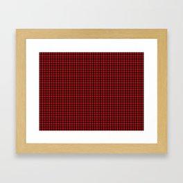 Cunningham Tartan Framed Art Print
