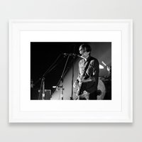 death cab for cutie Framed Art Prints featuring Death Cab For Cutie by Adam Pulicicchio Photography