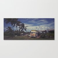 almost famous Canvas Prints featuring Almost Famous by David Mark Zimmerman