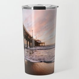 MANHATTAN BEACH PIER Travel Mug
