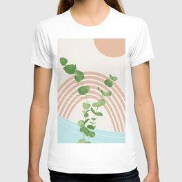 Eucalyptus Rainbow Oasis #1 #tropical #wall #art #society6 T-shirt