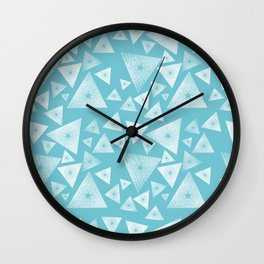 Pyramid II Wall Clock
