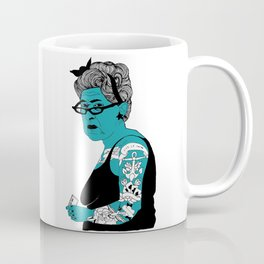 Tattoo Lady colour by Emilythepemily Coffee Mug