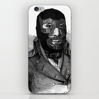 wrestling iPhone & iPod Skins featuring Wrestling mask by DIVIDUS