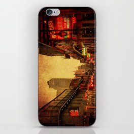 Bourbon Street Grunge iPhone Skin