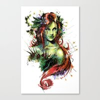 poison ivy Canvas Prints featuring Poison Ivy by Vincent Vernacatola