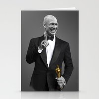 actor Stationery Cards featuring Best Actor by Daniac Design
