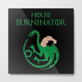 House Burninator Metal Print