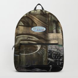 SRC Preparations Wall Art 934 Race One Backpack