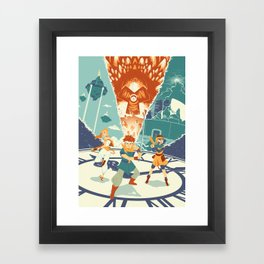 Chrono Trigger Framed Art Print