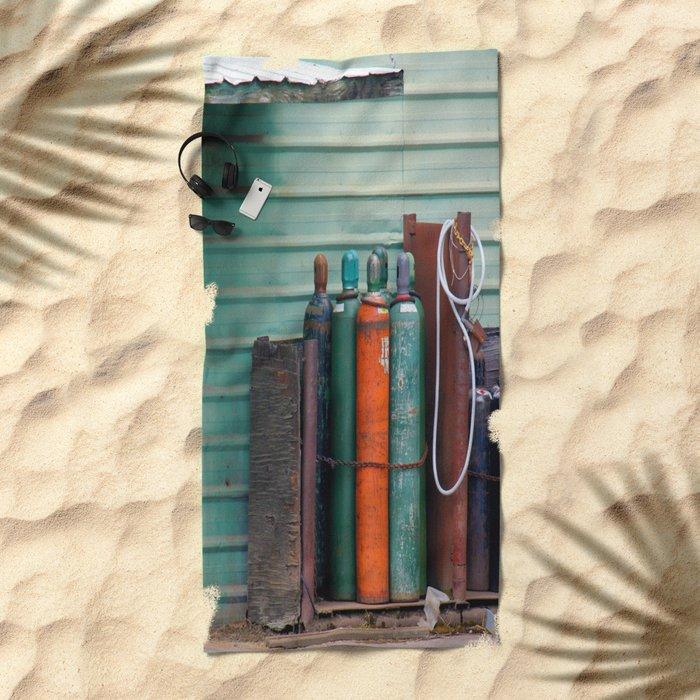 Colors - Tanks Beach Towel