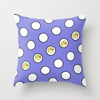ducks Throw Pillows featuring Ducks by LoRo  Art & Pictures