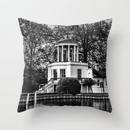 Temple Island near Remenham  Throw Pillow