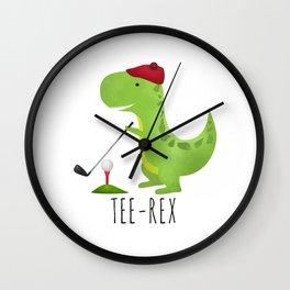 Tee-Rex Wall Clock