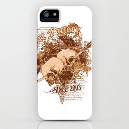Double jeopardy  iPhone Case