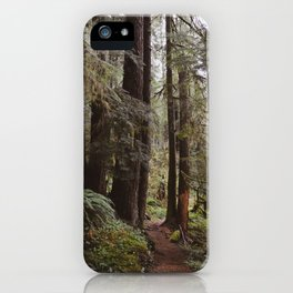 Vintage Hiking Trail iPhone Case