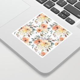 Peachy Keen Pattern Sticker