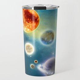 New Solar System Travel Mug
