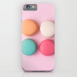 Pink Macaroons iPhone Case