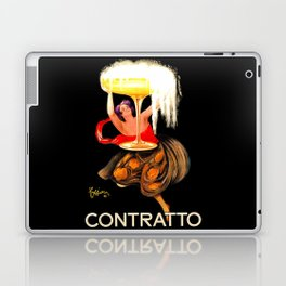 Prosecco Contratto Leonetto Capiello Laptop & iPad Skin