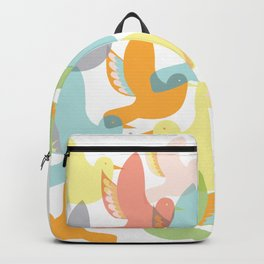 Lyla's Birds in Flight Backpack