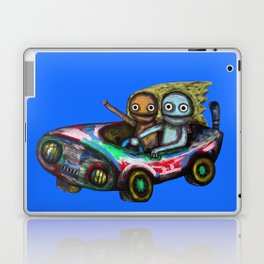 A trip by car Laptop & iPad Skin