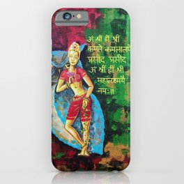 Maha Lakshmi iPhone Case