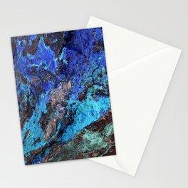 Malachite Mineral Stone rustic decor Stationery Cards