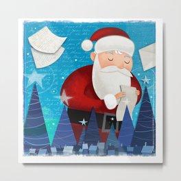 Letters to Santa Metal Print
