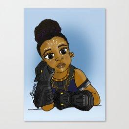 KIDS OF WAKANDA - BABY SHURI Canvas Print
