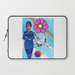 Fly To Korea With Me Laptop Sleeve