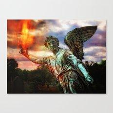 Burning Angel Canvas Print