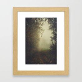 Unwritten poetry Framed Art Print