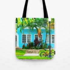 #side street still life miami Tote Bag