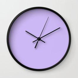 Monochrome collection Purple Wall Clock