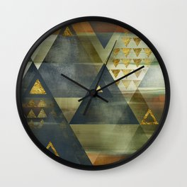 Copper City Wall Clock