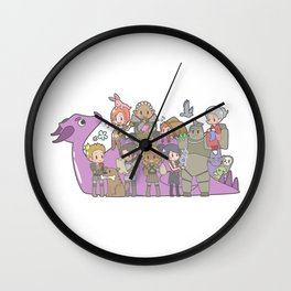 Dragon Age - Origins Companions Wall Clock