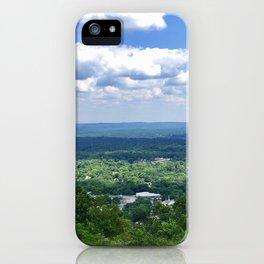 Scenic overlook of Hot Springs Arkansas iPhone Case