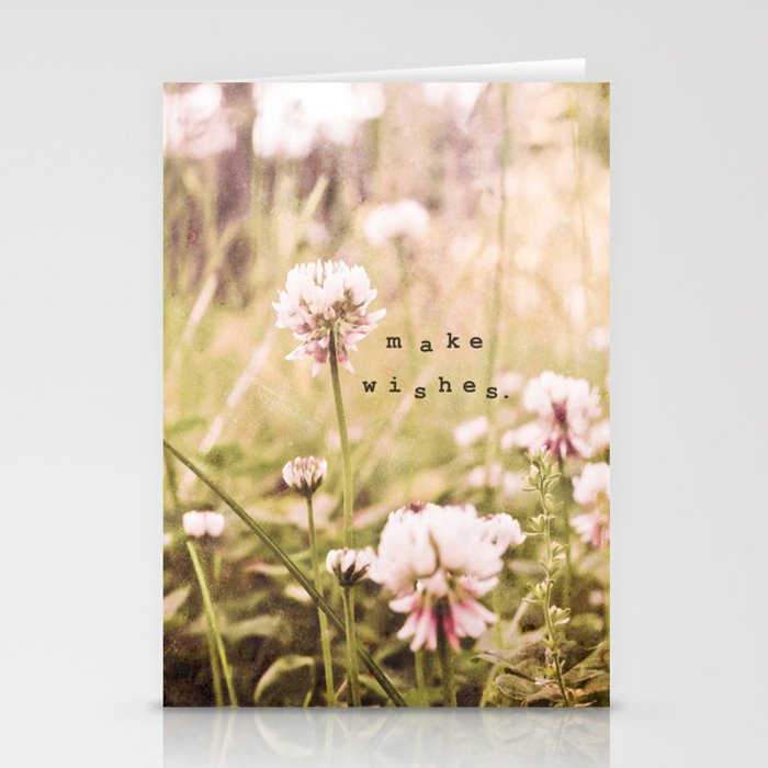Make Wishes Stationery Cards