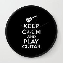 Guitarist Gift Wall Clock